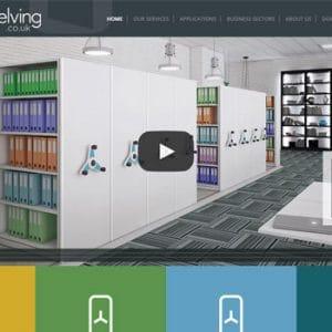 Mobile Shelving Website Preview
