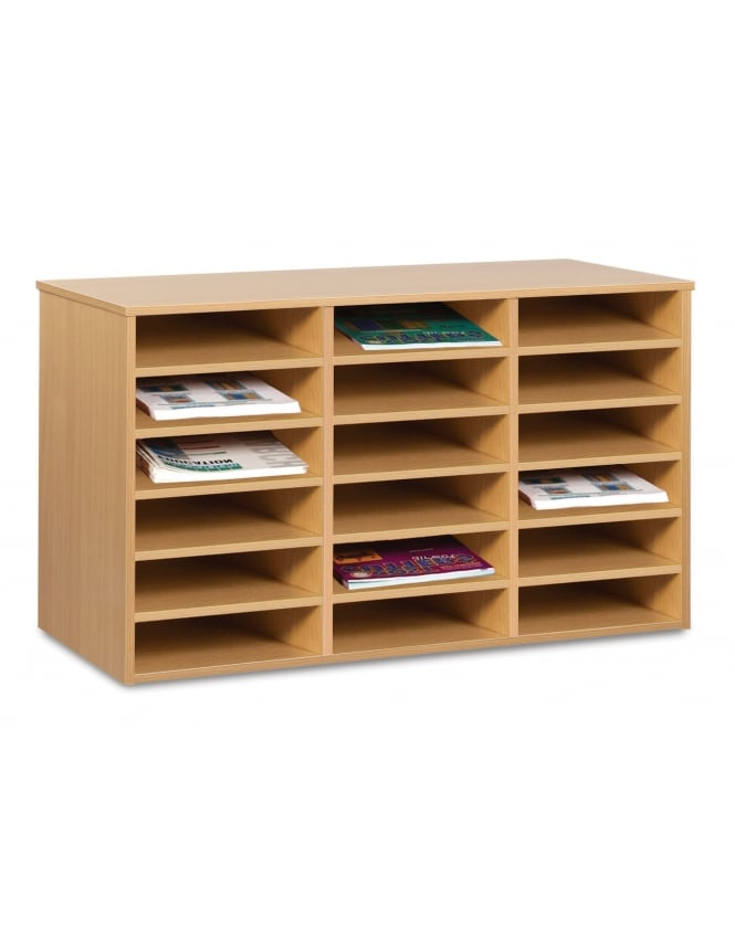 Monarch Furniture 18 A4 Compartment Pigeon Hole Unit (Static)