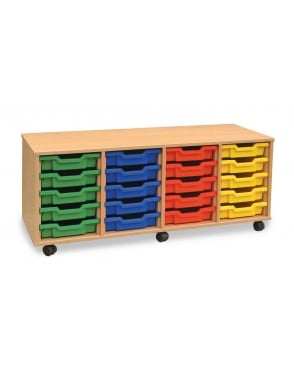 4Store Shallow Tray Storage Unit