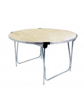 5ft Round Folding Table 1520mm Dia