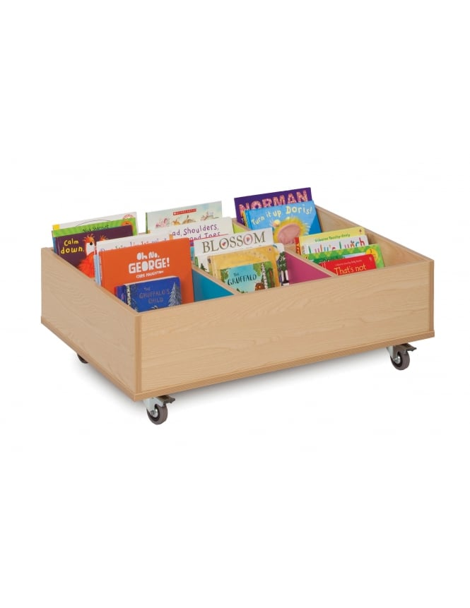 Monarch Furniture 6 Bay Kinderbox with Wheels