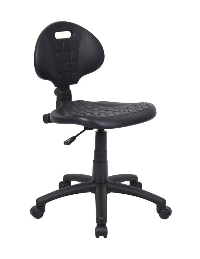 Woodstock Leabank Adjustable Black Workchair with Castors