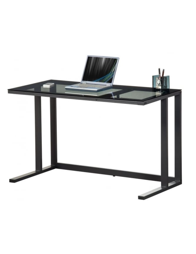 Alphason Air Smoked Glass Desk