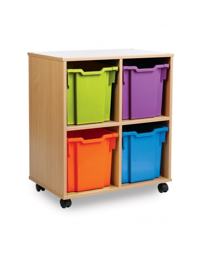 Monarch Furniture Allsorts Jumbo Tray Storage Units