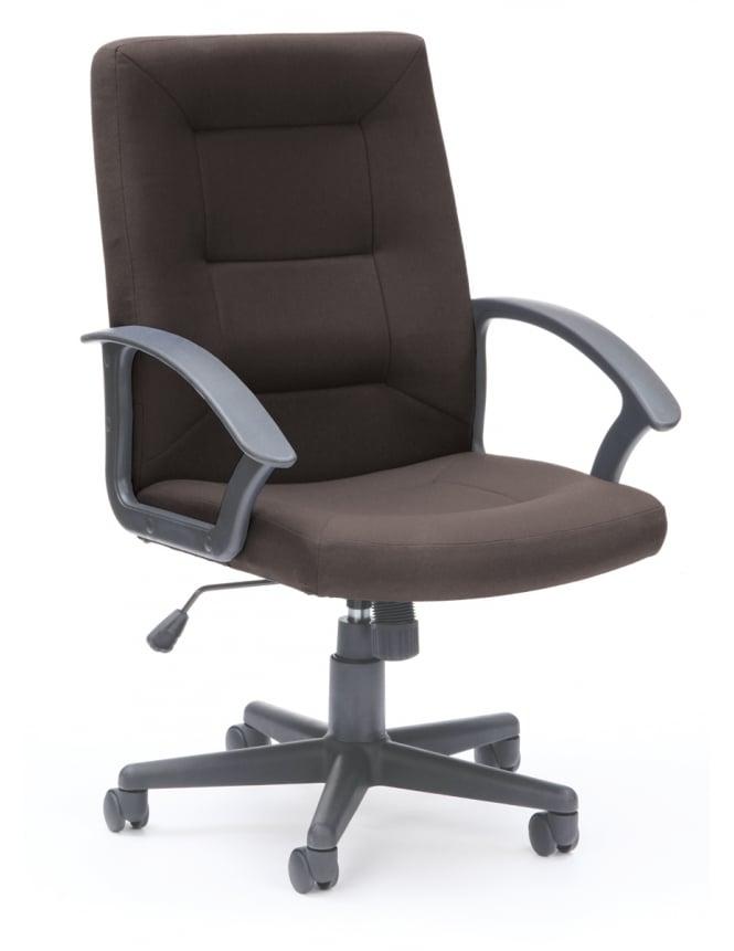 Woodstock Leabank Amber Executive Fabric High Back Chair
