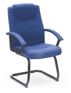 Amber Fabric Medium Back Visitor Chair