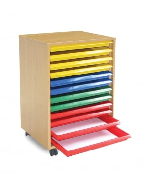 Art Tray Storage Unit