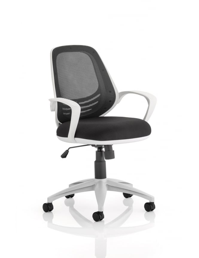 Dynamic Furniture Atom Task Operator Black Chair