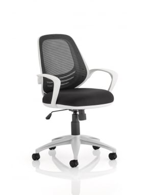 Atom Task Operator Black Chair