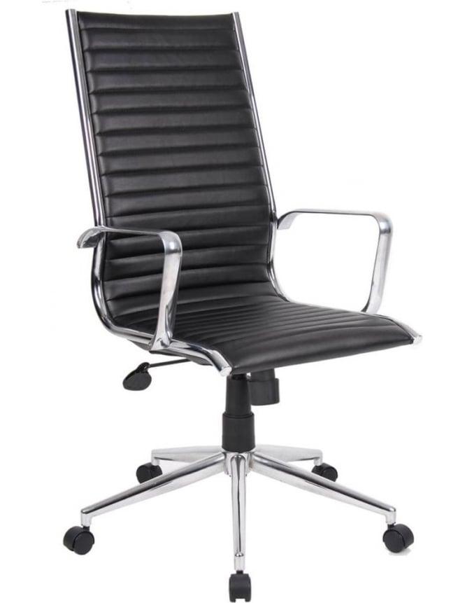 Dams Bari Leather Faced Executive Chair