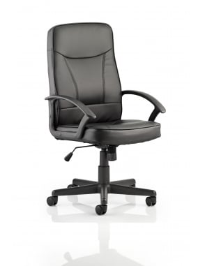 Blitz Executive Black Bonded Leather Chair