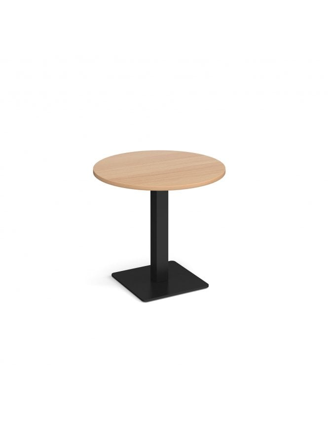 Dams Brescia Circular Dining Table with Flat Square Base