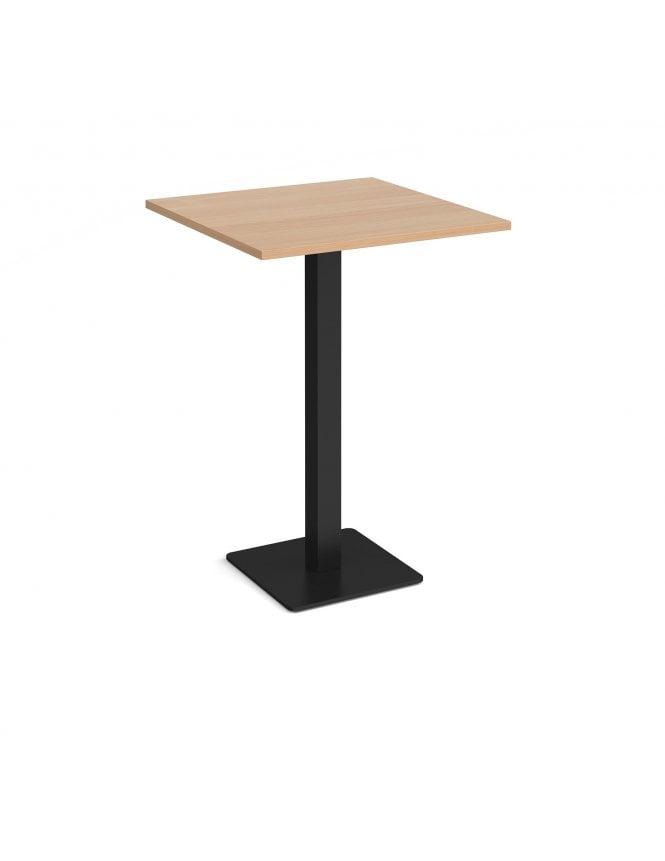 Dams Brescia Square Poseur Table with Flat Square Base