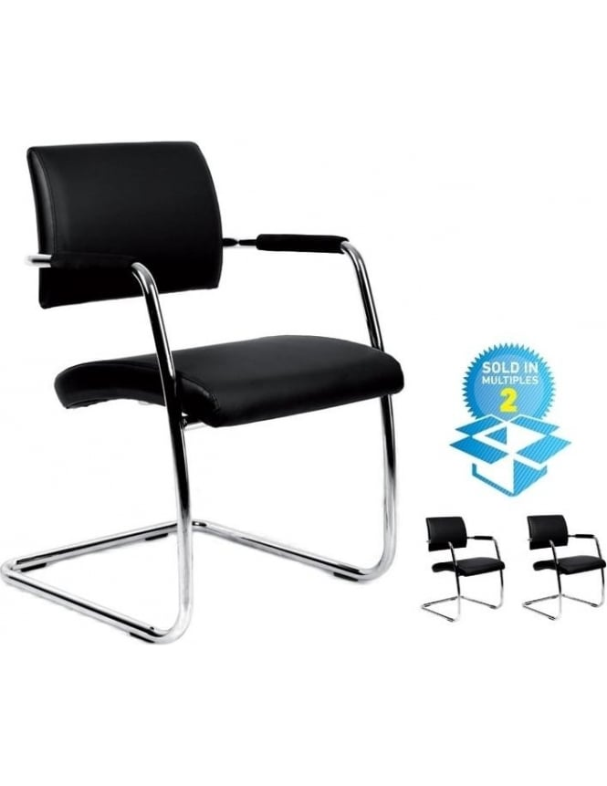 Dams Bruge Soft Leather Faced Meeting Chair