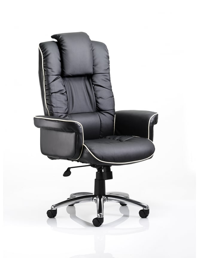 Dynamic Furniture Chelsea Executive Bonded Leather Chair