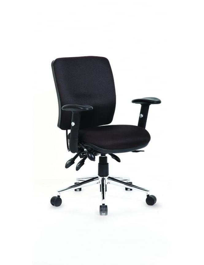 Dynamic Furniture Chiro Medium Back Task Operators Chair