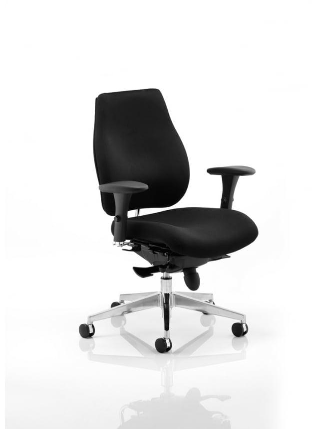 Dynamic Furniture Chiro Plus Ergo Posture Fabric Chair