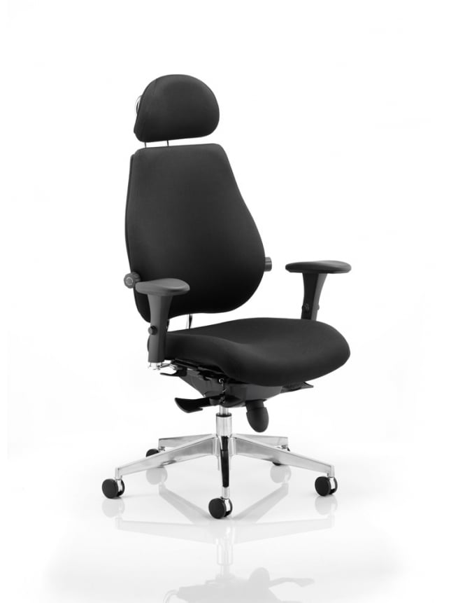 Dynamic Furniture Chiro Plus Ultimate Fabric Chair