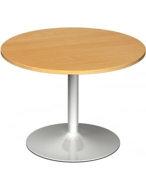 Circular Boardroom Table Trumpet Base
