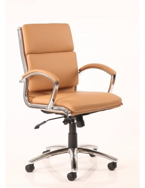 Classic Executive Medium Back Leather Chair