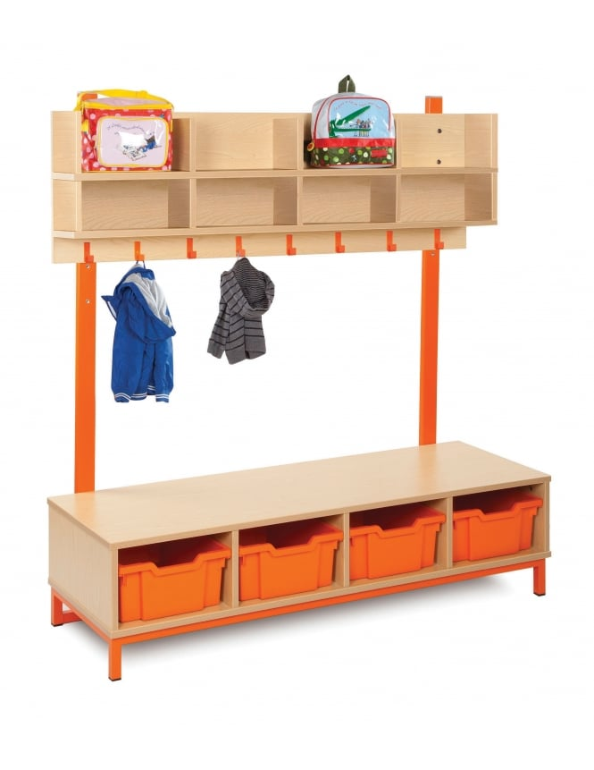 Monarch Furniture Cloakroom with Deep Trays