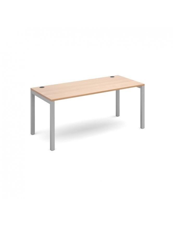Dams Connex Straight Single Desk