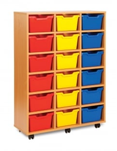 Cubby Tray Storage Units