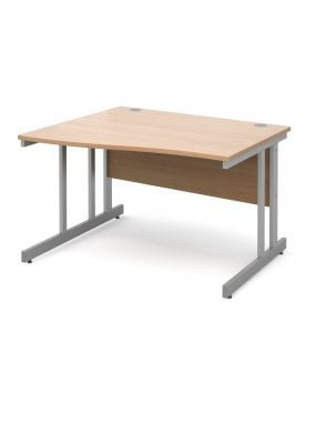 Dams Momento Left Hand Wave Desk