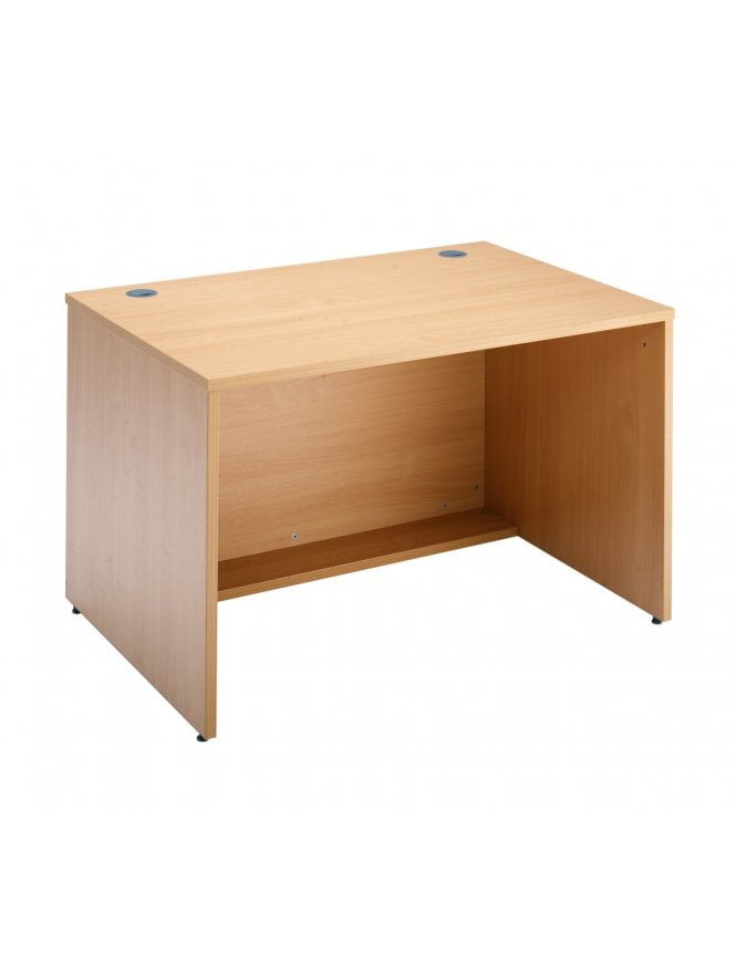 Dams Denver Reception Straight Base Unit - Beech