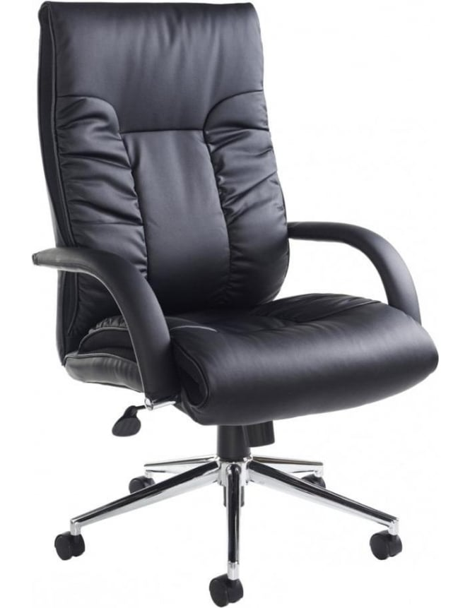 Dams Derby Leather Faced Executive Chair