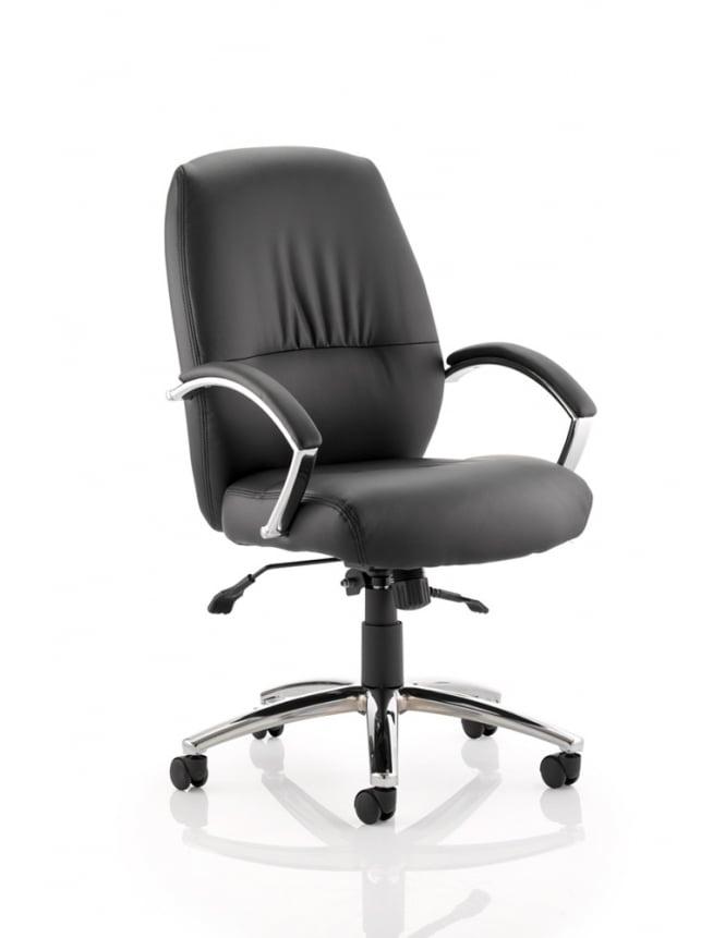 Dynamic Furniture Dune Executive Bonded Leather Medium Back Chair