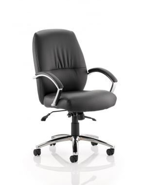 Dune Executive Bonded Leather Medium Back Chair