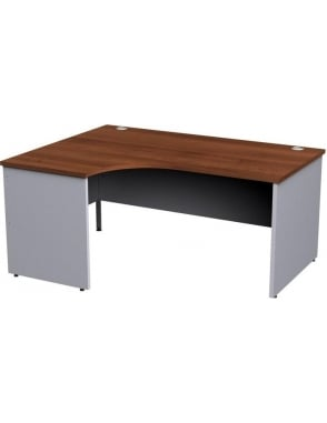 Duo Left Hand Ergonomic Panel Desk