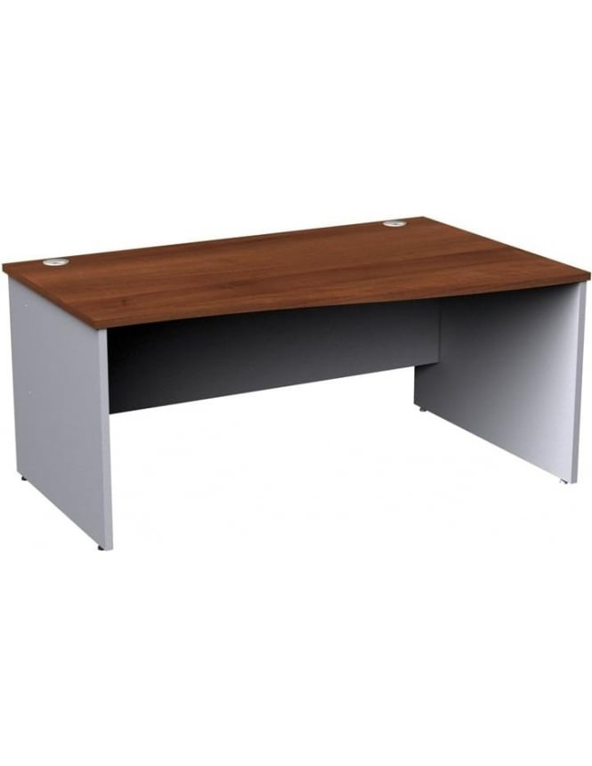 Dams Duo Right Hand Wave Panel Desk