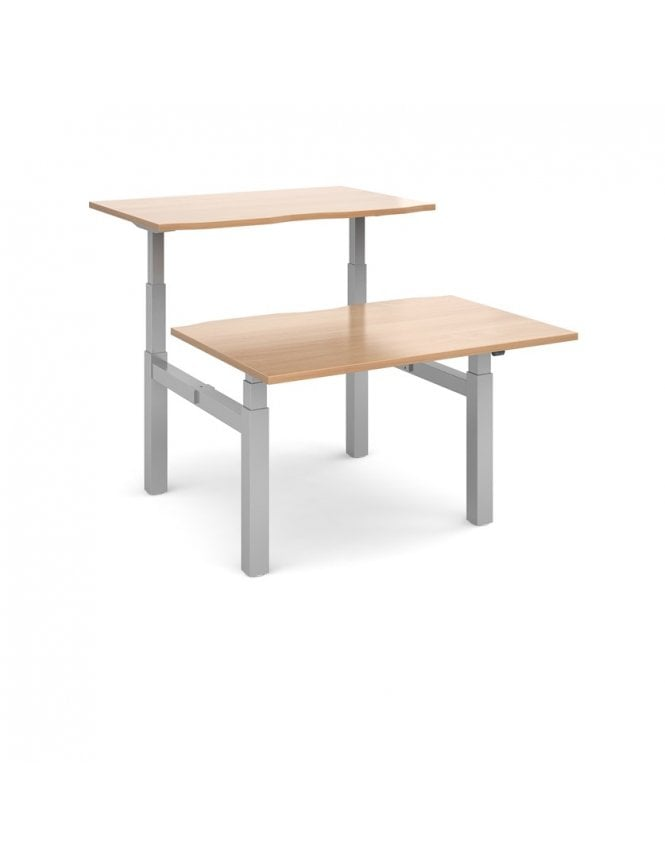 Dams Elev8 Mono Sit-Stand Back-to-Back Desk