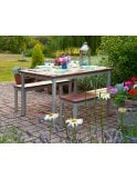 Gopak Enviro Outdoor Table 1800 x 900mm