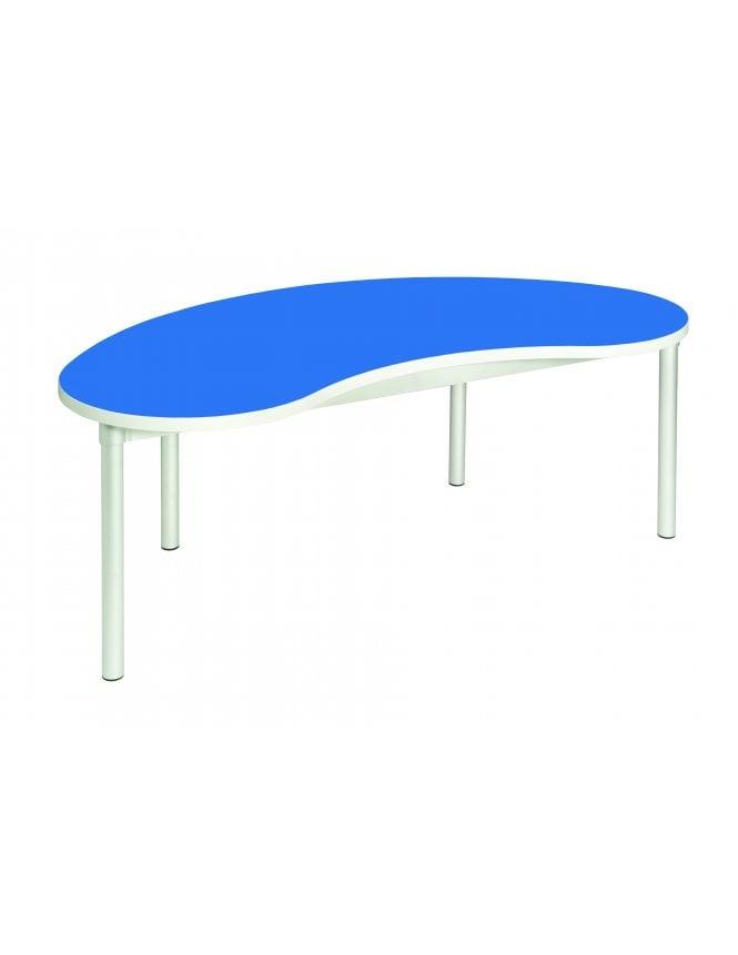 Gopak Enviro Silver Frame Early Years Bean Table 1400 x 750mm