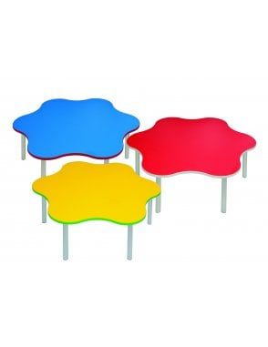 Enviro Silver Frame Early Years Daisy Table 1200mm