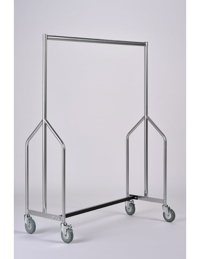 Commercial Hangers Extra Height Heavy Duty Nesting Garment Rail