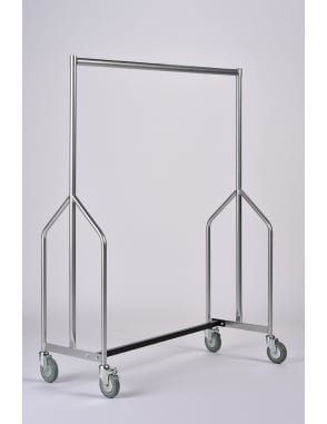 Extra Height Heavy Duty Nesting Garment Rail