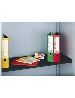 Extra Shelf for Steel Storage Cupboards - Black