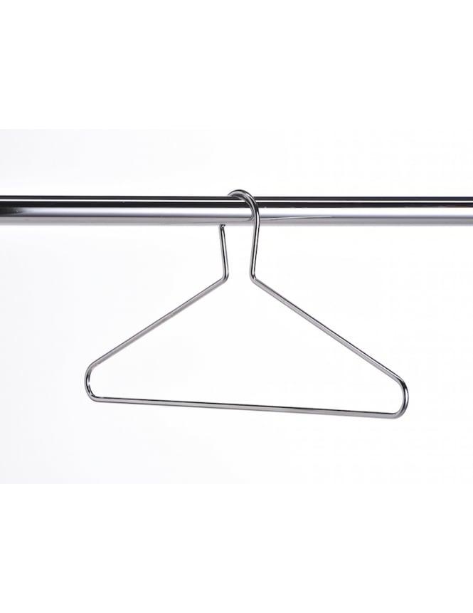 Fully Captive Chrome Hangers Pack of 50