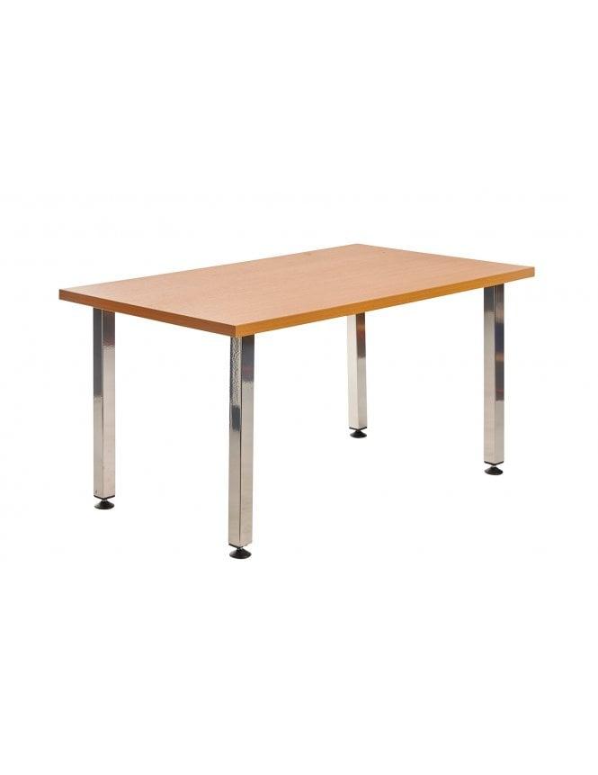 Dams Helsinki Rectangular Wooden Reception Table