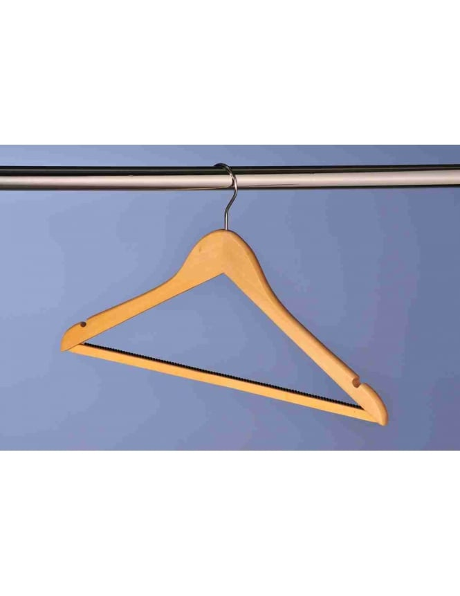 Hooked Combination Hanger - 100 Pack