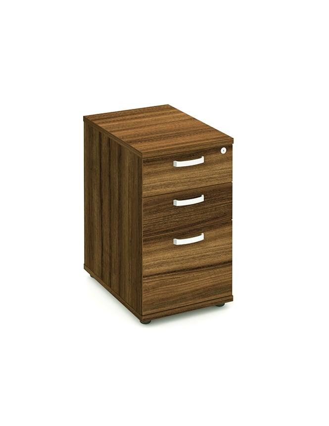Dynamic Furniture Impulse 600 Desk High Pedestal 3 Drawer