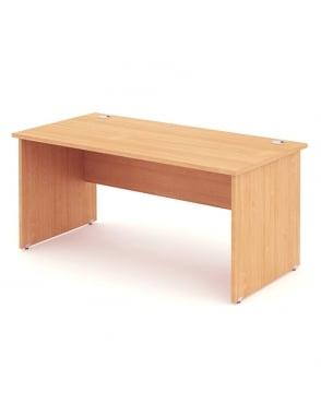 Impulse Panel End Rectangle Desk Beech