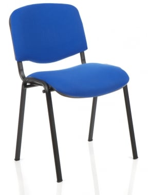 ISO Stacking Fabric Chair