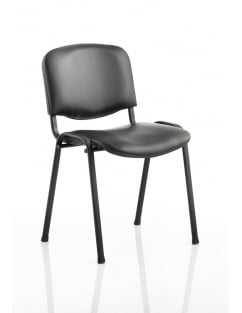 ISO Stacking Vinyl Chair