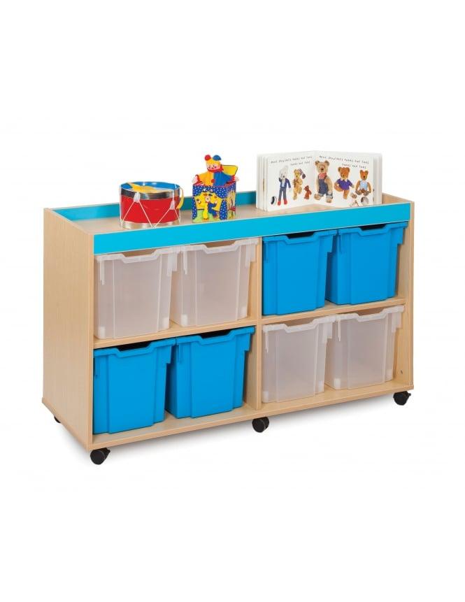 Monarch Furniture Jumbo Tray Storage Units