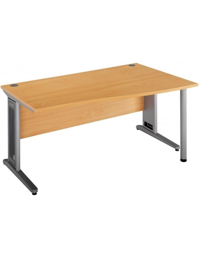 Dams Largo Cable Control Right Hand Wave Desk